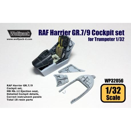 RAF Harrier GR.7/9 Cockpit set (for Trumpeter 1/32)