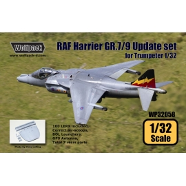 RAF Harrier GR.7/9 Update set (for Trumpeter 1/32)