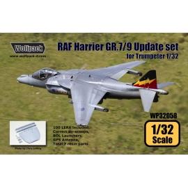 RAF Harrier GR.7/9 Update set (for Trumpeter 1/32)