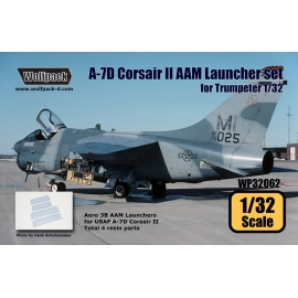 A-7D Corsair II AAM Launcher set (for Trumpeter 1/32)