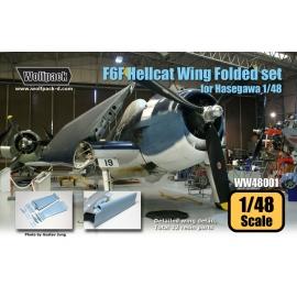 F6F Hellcat Wing Folded set (for Hasegawa 1/48)