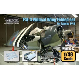 F4F-4 Wildcat Wing Folded set (for Tamiya 1/48)