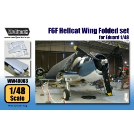 F6F Hellcat Wing Folded set (for Eduard 1/48)