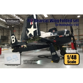 F8F Bearcat Wing Folded set (for Hobbyboss 1/48)