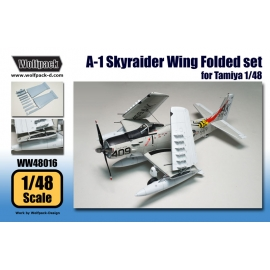 A-1 Skyraider Wing Folded set (for Tamiya 1/48)