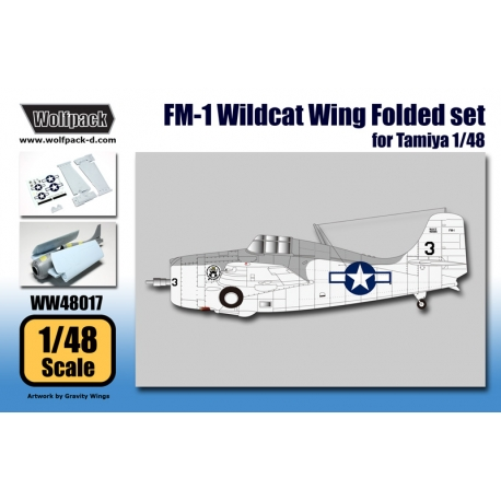 FM-1 Wildcat Wing Folded set (for Tamiya 1/48)
