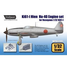 Ki61-I Hien Ha-40 Engine set (for Hasegawa 1/32)