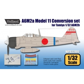 A6M2a Zero Model 11 Conversion set (for Tamiya 1/32)