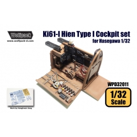 Ki61-I Hien Type I Cockpit set (for Hasegawa 1/32)