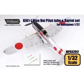 Ki61-I Hien Hei Pitot tube & Barrel set (for Hasegawa 1/32)