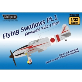 Flying Swallows Pt.1 - Kawasaki Ki61-I Hien