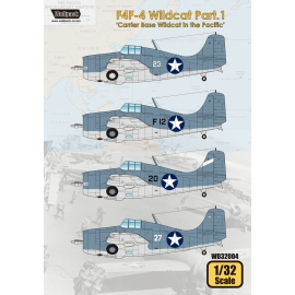 F4F-4 Wildcat Part.1 'Carrier Base Wildcat in the Pacific'
