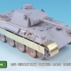 1/35 German Panther Ausf.D Detail up set for Zvezda