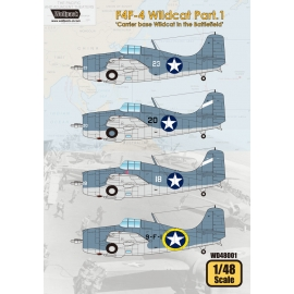 F4F-4 Wildcat Part.1 'Carrier Base Wildcat in the Battlefield'