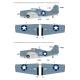F4F-4 Wildcat Part.1 'Carrier Base Wildcat in the Battlefield'