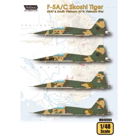 F-5A/C Skoshi Tiger - USAF & South Vietnam AF in Vietnam War