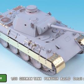 1/35 German Panther Ausf.D Detail up set for Tamiya