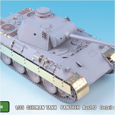 1/35 German Panther Ausf.D Detail up set for Tamiya