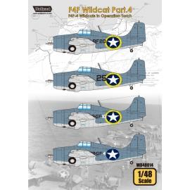 F4F Wildcat Part.4 - F4F-4 Wildcats in Operation Tirch