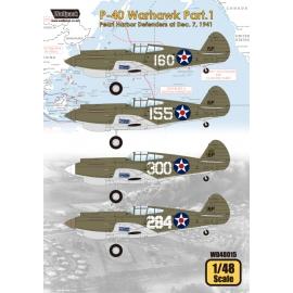 P-40 Warhawk Part.1 - Pearl Harbor Defenders at Dec. 7, 1941