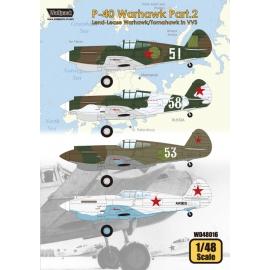 P-40 Warhawk Part.2 - Land-Lease Warhawk/Tomahawk in VVS