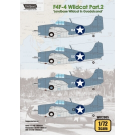 F4F-4 Wildcat Part.2 'Landbase Wildcat in Guadalcanal'