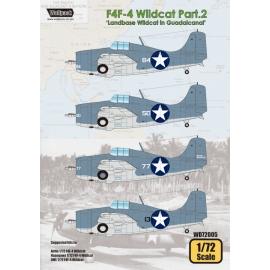 F4F-4 Wildcat Part.2 'Landbase Wildcat in Guadalcanal'
