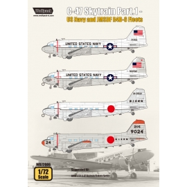 C-47 Skytrain Part.1 - US Navy and JMSDF R4D-6 Fleets