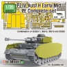 German Pz.IV Ausf.H Early/Mid PE Complete set