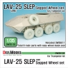 "US LAV-25 SLEP ""XML"" Sagged Wheel set (for Trumpeter 1/35)"