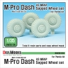 US MRAP M-pro Dash Sagged Wheel set (for Panda 1/35)