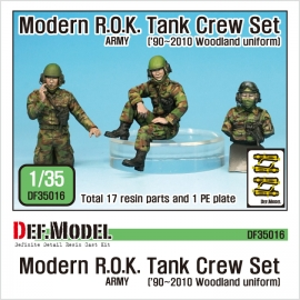 Modern ROK army Tank crew set('90~2010)
