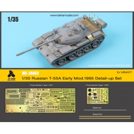 1/35 Russian T-55A Early Mod. 1965 Detail-up Set for MiniArt