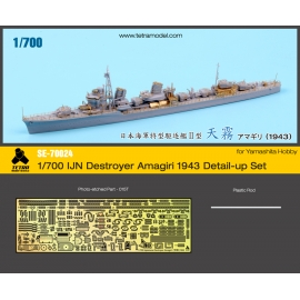 1/700 IJN Destroyer Amagiri 1943 Detail-up Set (for Yamashita Hobby)