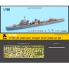 1/700 IJN Destroyer Amagiri 1943 Detail-up Set (for Yamashita Hobby)