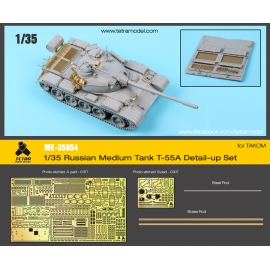 1/35 Russian Medium Tank T-55A Detail-up Set for TAKOM