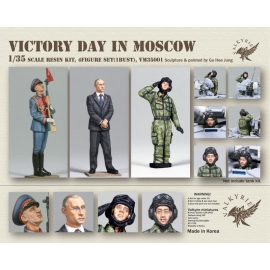 1/35 Victory Day in Moscow (3 Figures and 1 Bust)