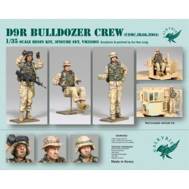 1/35 D9R Bulldozer Crew - USMC in Iraq 2004 (3 Figures)