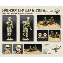 1/35 Modern IDF Tank Crew - 2000 Era (2 Figures)