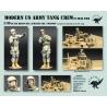 1/35 Modern US Army Tank Crew in Iraq 2008 (2 Figures)