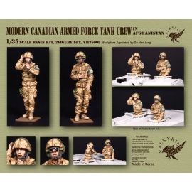 1/35 Modern Canadian Armed Force Tank Crew in Afghanistan (2 Figures)