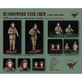 1/35 Bundeswehr Tank Crew - 1990~ 2000 Era (2 Figures)