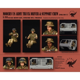 1/35 Modern US Army Truck Driver & Support Crew for M977 (2 Figures)