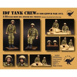 1/35 IDF Tank Crew in Europe In Yom Kippur War 1973 (2 Figures)