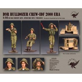 1/35 D9R Bulldozer Crew - IDF 2000 Era (3 Figures)