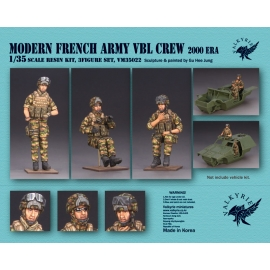 1/35 Modern French Army VBL Crew - 2000 Era (3 Figures)