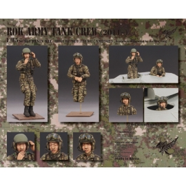1/35 ROK Army Tank Crew - 2011~ (2 Figures and 1 Bust)