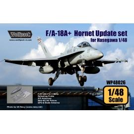 F/A-18A+ Hornet Update set (for Hasegawa 1/48)