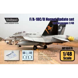 F/A-18C/D Hornet Late type Update set (for Haswgawa 1/48)