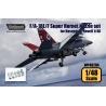 F/A-18E/F Super Hornet F414 Engine Nozzle set (for Hasegawa/Revell 1/48)